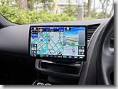 Audi R8 Car Navigation System Panasonic CN-F1X10BD Swapping