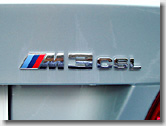 M3 CSL Emblem