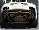 Porsche Sport Exhaust System + Original Center Pipe