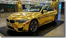 Frankfurt (Main) Flughafen Fernbahnhof, Sixt Rent a Car, BMW M4 Coupe